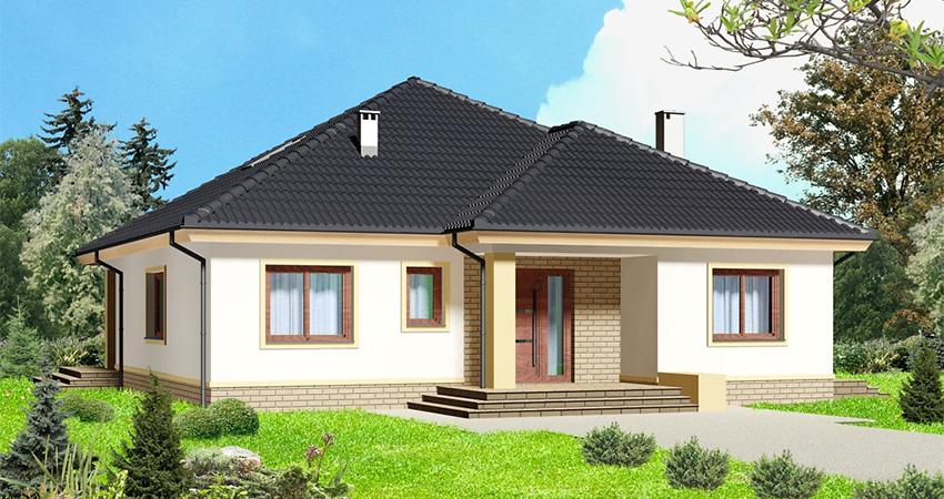 Проект дома на 164 кв.м