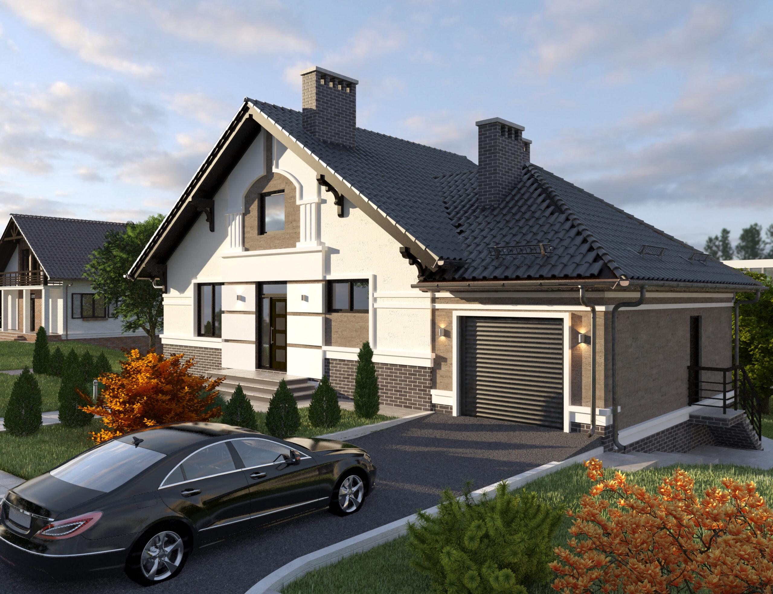 Проект дома на 240 м.кв