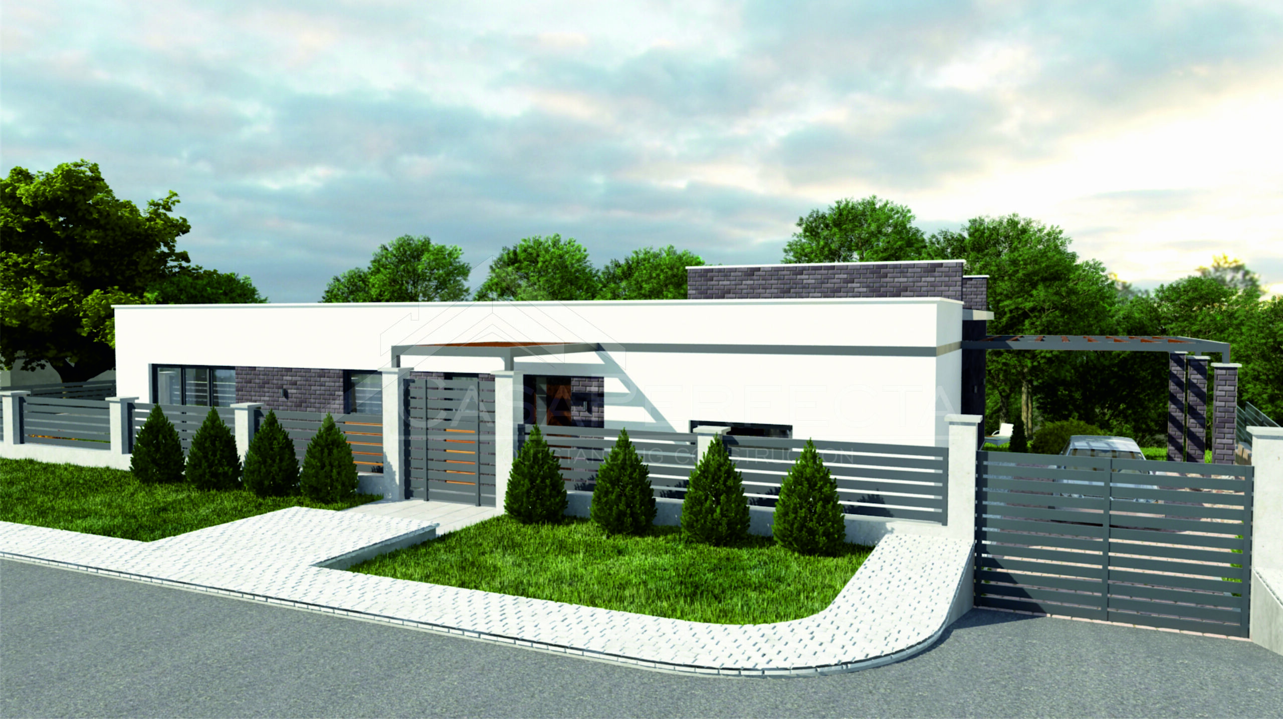 Проект дома на 160 м.кв