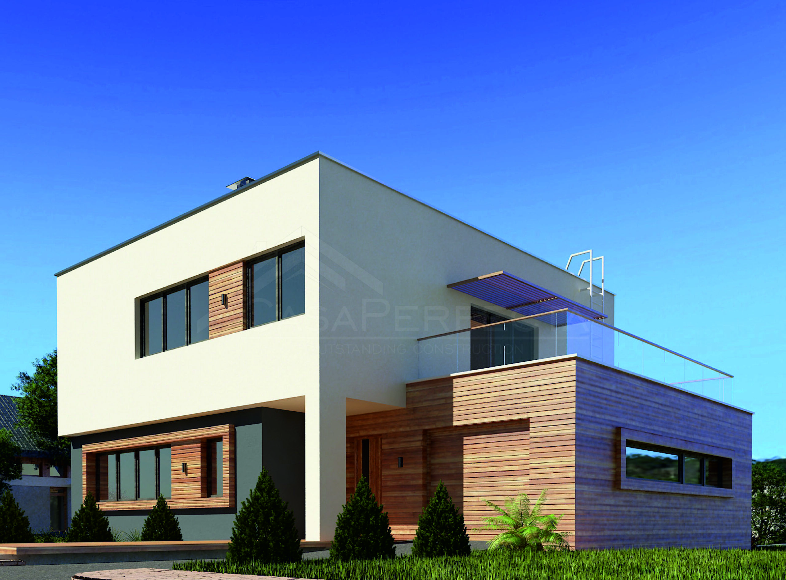 Проект дома на 267 м.кв
